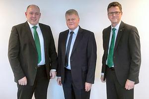 Rainer Große-Kracht (li.), Dr. Horst Peter Wurm (Mitte) und Frank Hartmann (re.) | Quelle: Bitzer Kühlmaschinenbau GmbH