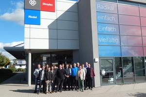 Besuch bei Glen Dimplex in Kulmbach