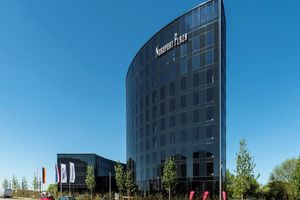 Gewinner Kategorie Klimatechnik: Das Hotel Nordport Plaza verfügt neben einem außergewöhnlichen Erscheinungsbild auch über ein einzigartiges Energiekonzept.
