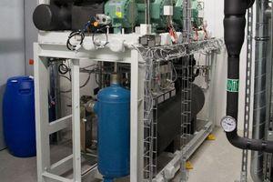Gewinner Kategorie Gewerbekälte: Kältezentrale mit natürlichen Kältemitteln für die Biotest AG