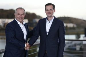Dipl.-Wirtsch.-Ing. Jan Opländer (links) und<br />Dipl.-Ing. (FH) Christian Schlegel