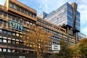Das DIN-Gebäude in Berlin