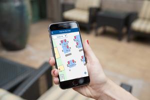 Kunden können, z.B. über eine eigene App, die mit dem Dashboard verbunden ist, weiter vom ZGS-Service- und Software-Know-how profitieren: So können Mitarbeiter Kollegen finden und freie Arbeitsplätze oder Besprechungsräume in ihrer Nähe lokalisieren.