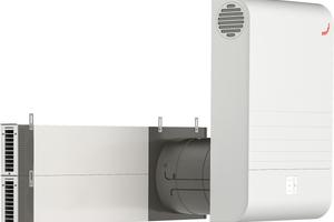Laibungsmodule von Zehnder besitzen einen effektiven Lärmschutz und eignen sich daher für innerstädtische Wohnbereiche.<br />