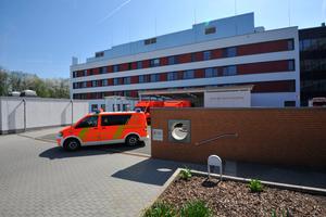 Der Neubau des KRH Robert Koch-Klinikums in Gehrden ging als trinkwasser-hygienisches Leuchtturmprojekt der Planungsgruppe VA im Jahr 2015 in Betrieb.