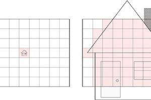 """<div class=""""Bildtitel"""">Messen und Entfernung</div>Je größer die Entfernung zum Zielobjekt ist, umso schwieriger bzw. unmöglicher wird es, dafür präzise Temperaturmesswerte zu ermitteln."""
