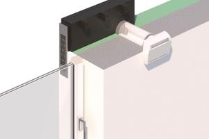 """Das Laibungselement """"ZLA LE"""" lenkt die Zuluft innerhalb des Wärmedämmverbundsystems um 90° in die Fensterlaibung.<br />"""
