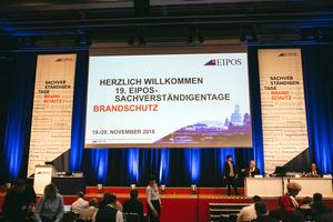 Am 19. und 20. November 2018 trafen sich rund 950 Brandschutzexperten aus Deutschland, Österreich und der Schweiz im Congress Center Dresden zu den EIPOS-Sachverständigentagen Brandschutz.