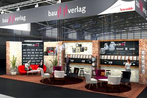 Der Bauverlag präsentiert auf der BAU seine Zeitschriften, Veranstaltungen und digitalen Produkte.