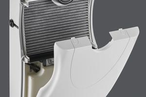 Der NOx-Filter filtert Schad- und Reizstoffe aus der Luft und unterstützt so ein gesundes Wohnraumklima.<br />