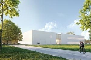 Unreife Produktionsprozesse in neuer Geschwindigkeit serienreif machen – das ist das Programm der im Bau befindlichen Karlsruher Forschungsfabrik.   Bild: KIT