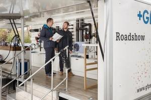 Gerne führen GF-Mitarbeiter die eigenen Haustechnik-, Industrie- oder Tiefbauprodukte vor Ort vor.   Foto: GF Piping System