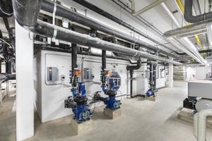 Drehzahlgeregelte Pumpen der Schwallwasserspeicher