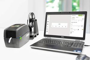"""Beschriftungssoftware """"smartscript"""" und Thermotransferdrucker """"smartprinter"""" für Beschriftungsaufgaben im Schaltschrank.<br />"""
