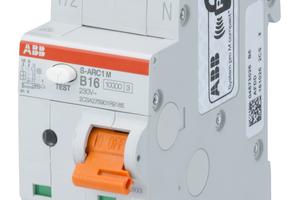 """Der Brandschutzschalter """"S-ARC1M"""" ist nun mit einem Bemessungsschaltvermögen von 10 kA verfügbar und eignet sich daher ideal für den Einsatz im Schaltanlagenbau und in der Industrie.<br />"""