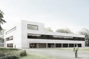 """Spie stattet den Forschungsneubau """"LASE"""" der TU Kaiserslautern mit Gebäudetechnik aus.  Visualisierung: B+P Reiner Becker GmbH"""