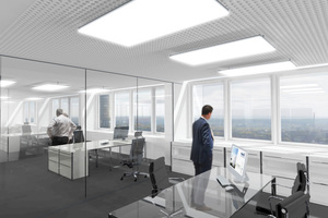 Blick aus einem künftigen Chefbüro