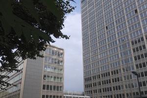 Die Fassaden des Gebäudes wurden bereits umfassend saniert.