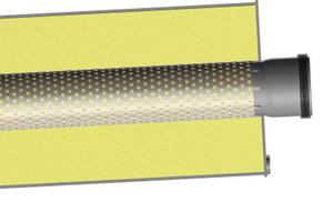 """Universeller Einsatz für mittlere Frequenzen mit den Absorptions-Schalldämpfern """"ASD"""" wahlweise für raumluftabhängige oder raumluftunabhängige Anwendungen.<br />"""