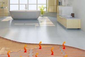 Die elektrische Flächenheizung bietet vor allem in der Bestandssanierung echte Vorteile, wenn keine Wasserheizung vorhanden ist oder der Fußbodenaufbau nicht entfernt werden soll.