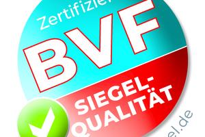 Das BVF-Siegel des Bundesverbandes Flächenheizungen und Flächenkühlungen e.V. hilft bei der Auswahl des richtigen elektrischen Flächenheizungssystems.