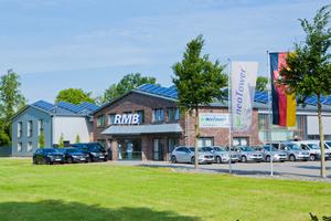 Anfang 2015 zog RMB/Energie an den neuen Stammsitz in Saterland-Ramsloh.