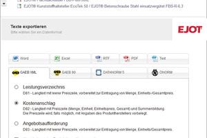 frei zugängliche Online-Datenbank ausschreiben.de<br />