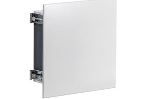 """Die Baureihe """"Inviseo UP Serie 80"""" bietet die Möglichkeit, die Abluftelemente der Serie 80 mit einem Unterputzgehäuse zu kombinieren und ...<br />"""