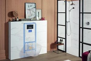 """Die Premiumkollektion """"Antheus"""" von Villeroy & Boch versetzt Badbesitzer zurück in die Eleganz der 1920er Jahre."""