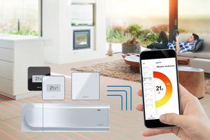 """""""Smatrix Pulse"""" verbindet Energieeffizienz und Wohnkomfort mit neuen Smart-Home-Anwendungen."""