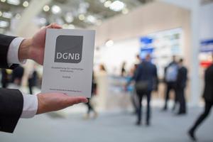Ein DGNB-Zertifikat in Platin