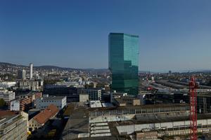 Der Prime Tower in Zürich wurde ...