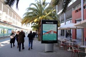 ... auf dem IFEMA-Gelände in Madrid, um Neuheiten und die Kooperation mit Systemair vorzustellen.