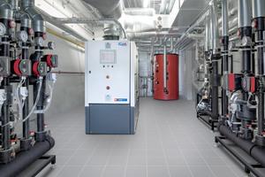Neue Heizzentrale der Lausitzer Werkstätten