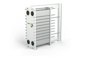 """Der gedichtete Plattenwärmetauscher """"NP150X"""" bietet eine hohe Wärmeübertragungsleistung und einen Testdruck von bis zu 42 bar<br />"""