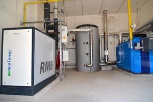 RMB/Energie bietet eine Reihe an BHKW in ...<br />