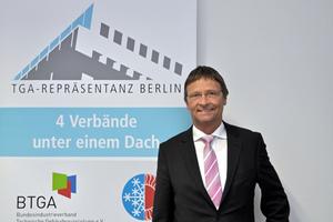 Günther Mertz, Geschäftsführer der TGA-Repräsentanz Berlin