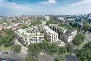 """Gebäudekomplex """"The East""""   Foto: Architektur Darstellung Michael Behrendt"""