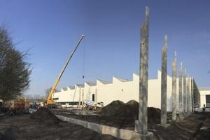 Die Spritzerei am Mindener Standort wird um rund 5.000 m2 erweitert.