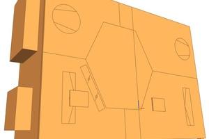 """In einer BIM-fähigen Planungssoftware wie """"Revit"""" stehen dem Planer zusätzlich zum 3D-Modell relevante technische Daten des Lüftungsgeräts zur Verfügung."""