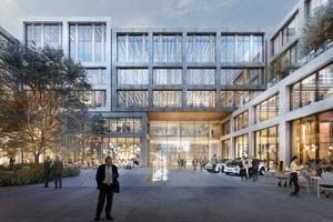 Das LabCampus wird der großangelegte Innovationsstandort am Flughafen München Bild: AuerWeber