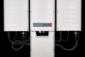 Dreiphasen-Wechselrichter für gewerbliche Anlagen<br />