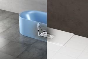 """Mit der Installationsbox """"Easy Connect"""" lassen sich die Ablaufgarnituren sowohl von Dusch- als auch Badewannen schnell und sicher anschließen."""