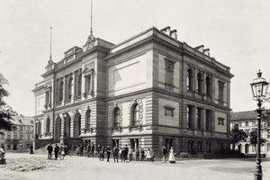 Das Kaiser-Wilhelm-Museum 1897 und ...