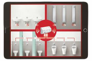 """Mit dem Schell-Wassermanagement-System """"SWS"""" im Zusammenspiel mit elektronischen Armaturen, ...<br />"""