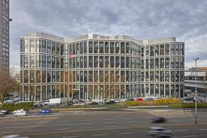 """Seit 2016 ist """"The Grid"""" wie das Gebäude genannt wird, die Konzernzentrale von DB Schenker in Essen."""