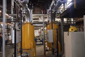 Zwei Dampf-/Wasser-Wärmeübertrager in Sequenz