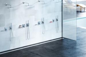 """ACO-""""ShowerDrain Public"""" erfüllt die Anforderungen von DIN EN 1253 und DIN 18534.<br />"""