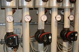 Die neuen energieeffizienten Pumpen in der LWL-Klinik Lengerich