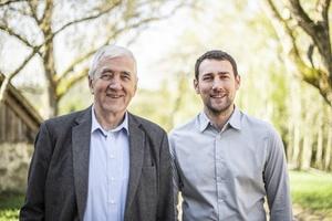 Herbert und Stefan Ortner, Geschäftsleitung der Ökofen Forschungs- und Entwicklungs Ges.m.b.H. vermelden für das abgelaufene Geschäftsjahr 2018 einen Umsatzrekord von rund 58 Mio. €. Foto: Ökofen